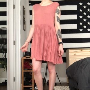 Pink Babydoll Dress from UO